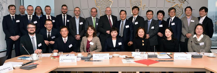 Conference with the South Korean National Economic Advisory Council (NEAC) in November 2018