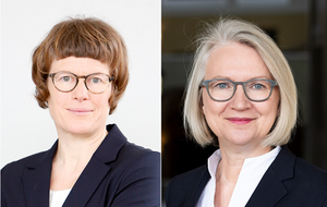 Prof. Dr. Veronika Grimm and Prof. Dr. Monika Schnitzer